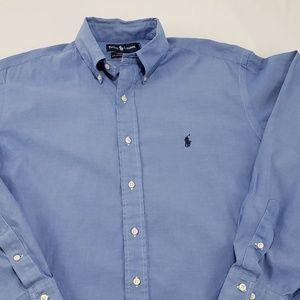 Ralph Lauren Yarmouth Cotton Oxford Dress Shirt